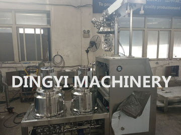 100L Vacuum Planetary Mixer , Cosmetic Making Machine Stainless Steel 316L