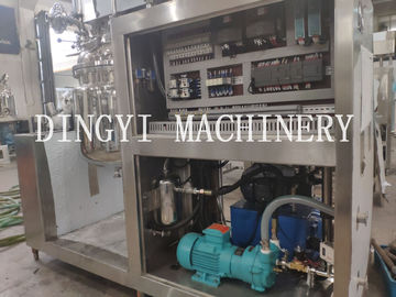 High Speed Vacuum Homogenizer Mixer For Cosmetic Factory 1150-3500rpm