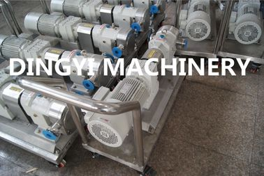 Food Grade Sanitary Rotary Lobe Pump, Rotary Gear Pump for Honey Yoghourt